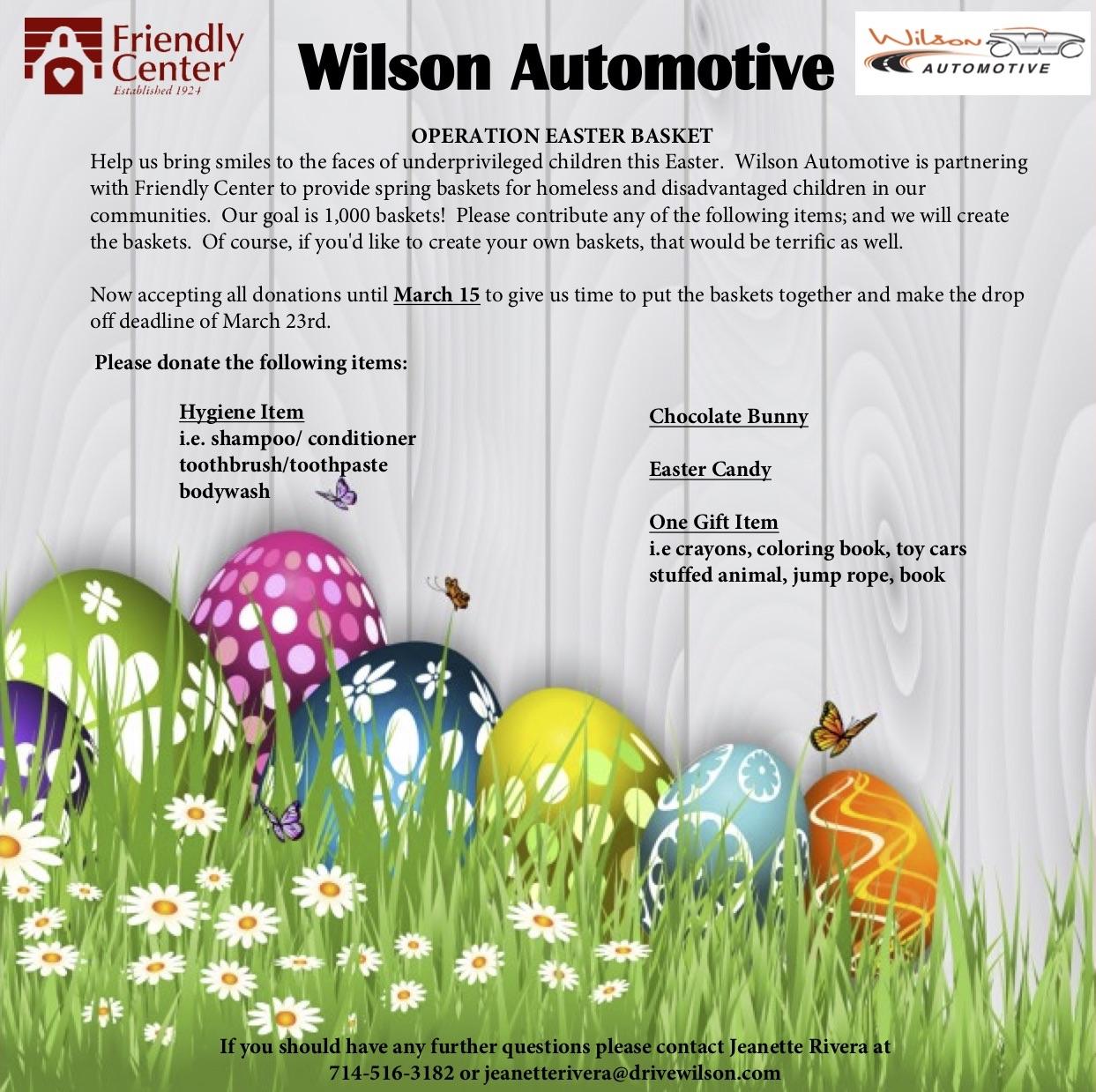 Easter - Wilson